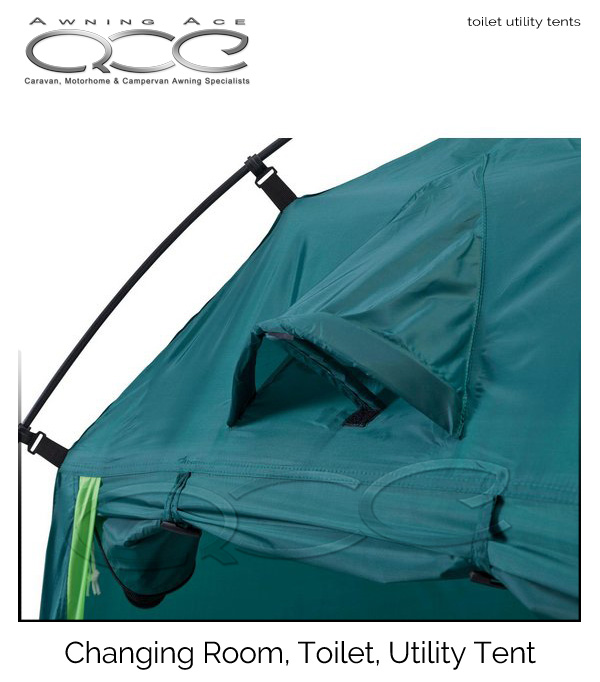 sc 1 st  Awning Ace & Camping changing room toilet tent utility room - awningace.com